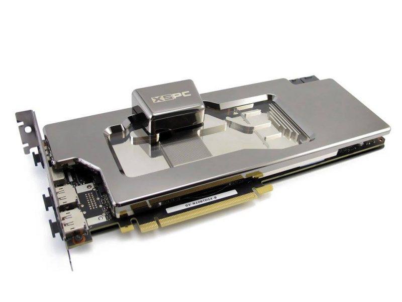 XSPC Teases Razor Neo Waterblocks for GTX 1080 and 1080 Ti