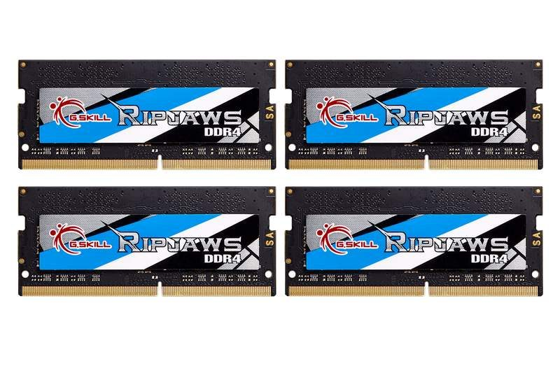 G.SKILL Introduces 4000MHz SO-DIMM DDR4 Kit