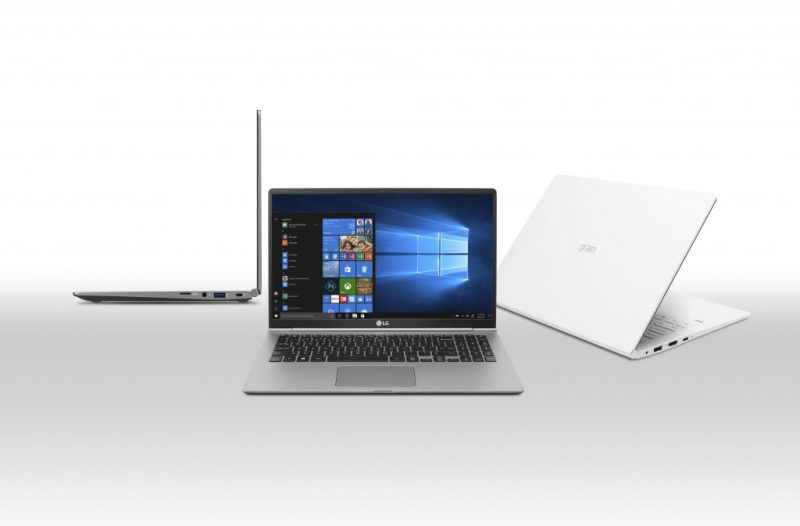 2018 LG Gram Notebooks Boast up to 22.5-Hour Battery Life