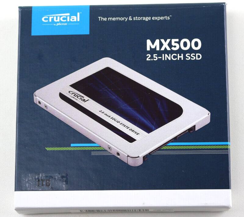 Crucial MX500 1TB Photo box front