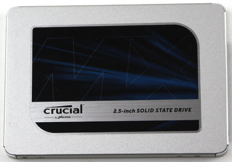 Crucial MX500 1TB Photo view top
