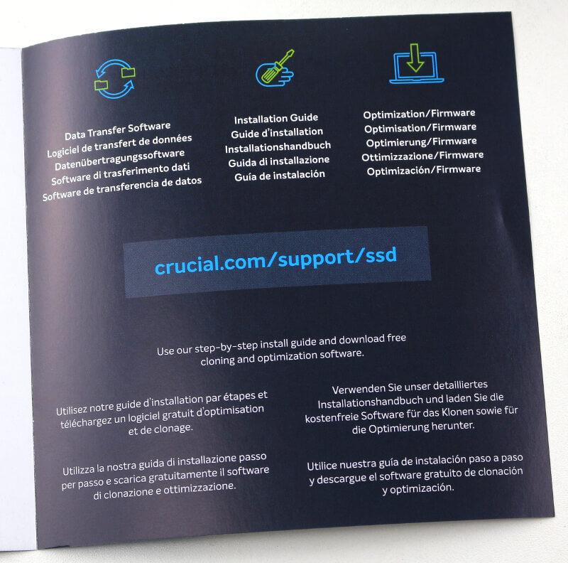 Crucial MX500 PhotoF box docs