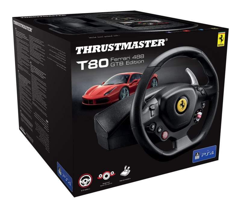 Thrustmaster Unveils T80 Ferrari 488 GTB Edition Racing Wheel
