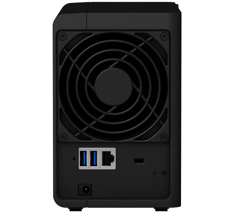 Synology DS218 back