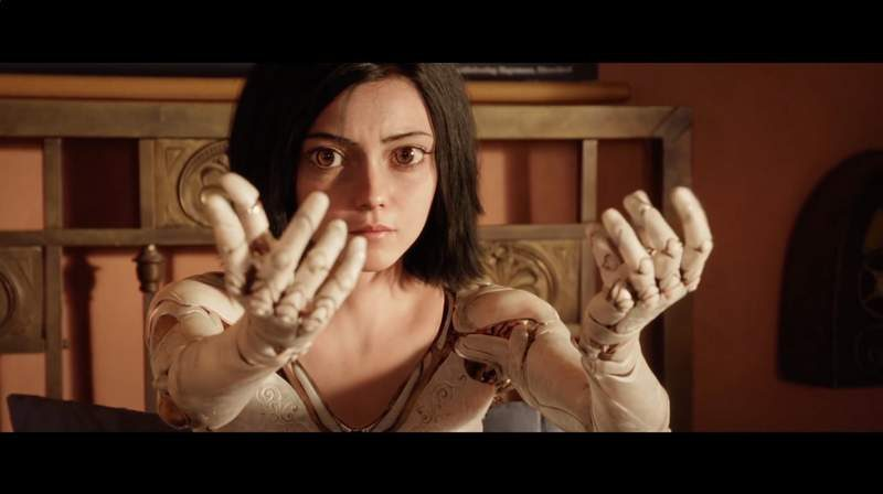 Watch the First Trailer for the Live-Action Battle Angel Alita