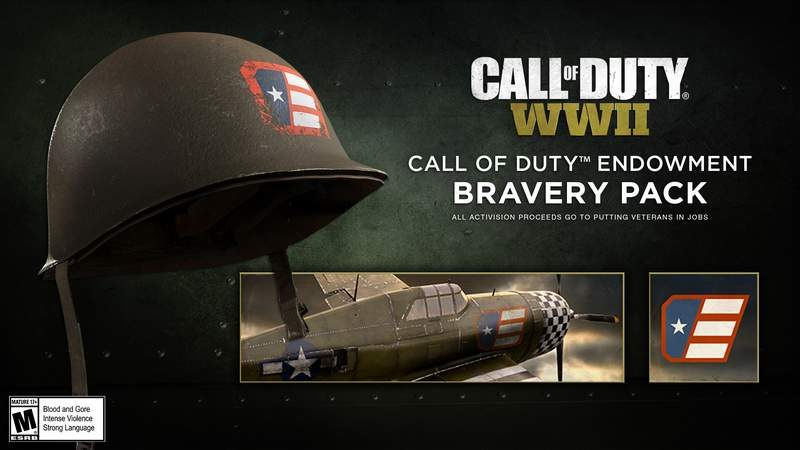 CoD:WW2 Launches Bravery Pack–Proceeds Go to Help Veterans