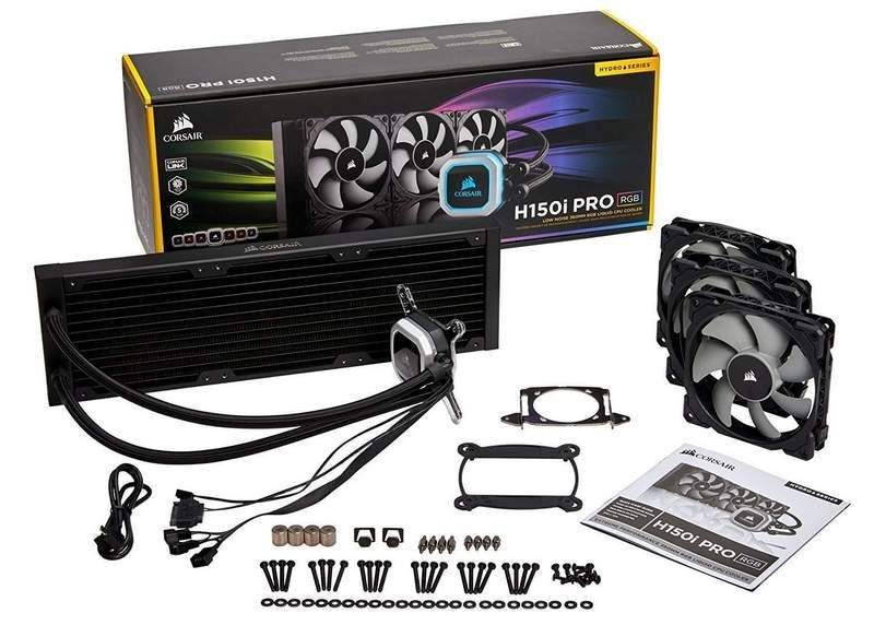 Corsair H150i Pro 360mm and H115i Pro 280mm AIO Coming Soon