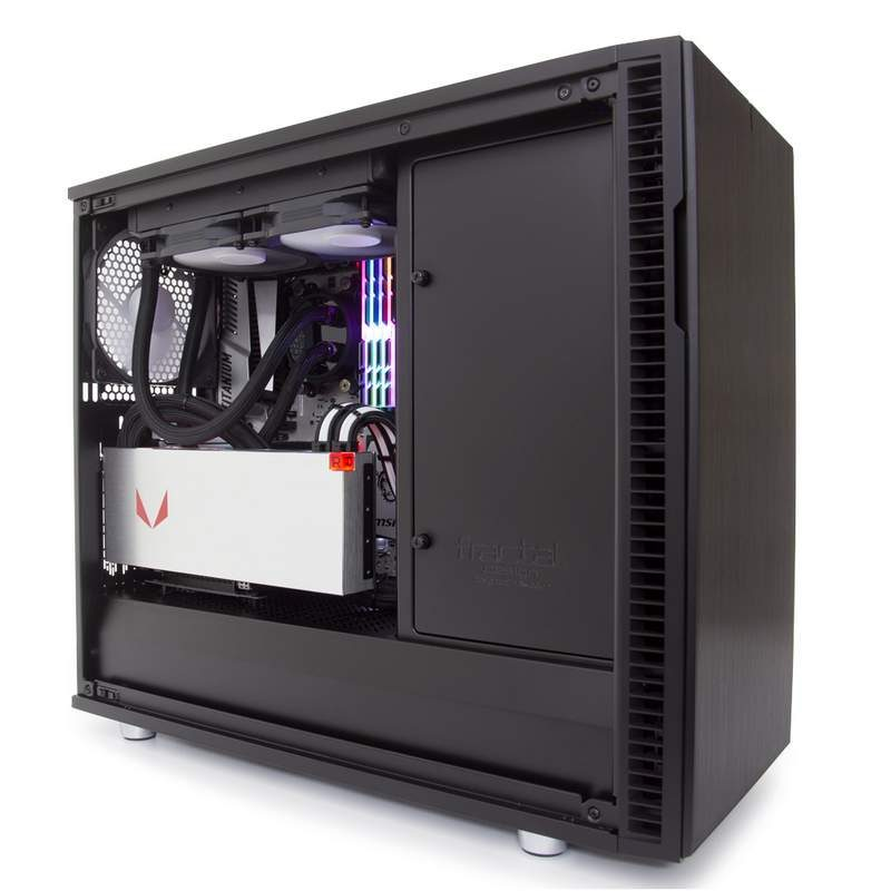 Fractal Design Offers Type-C Panel and PCIe Riser to Define R6