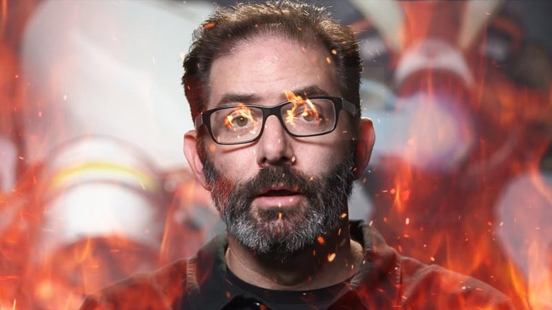 Toxic Overwatch Player Gets Wrecked by Jeff Kaplan