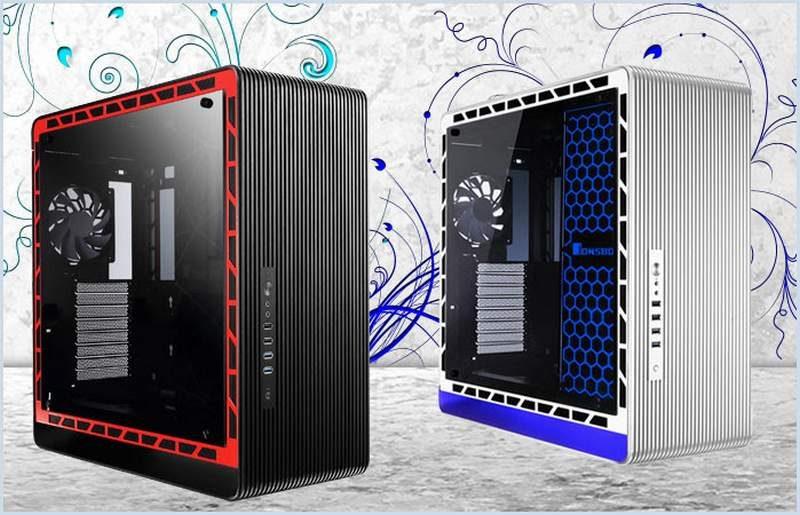 Jonsbo Announces UMX5 Flagship Mid-Tower Case