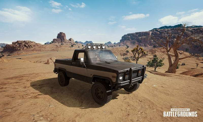 PlayerUnknown's BattleGrounds Teases New Truck for Desert Map