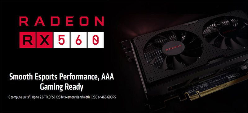 AMD Issues Official Statement About Radeon RX 560 Variants