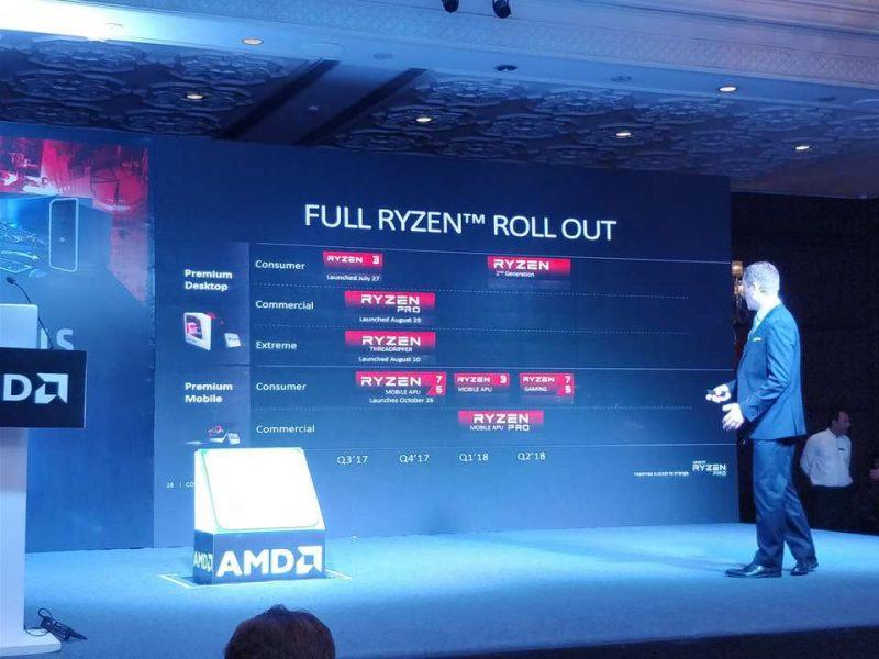 AMD Roadmap Leak Shows 2nd Gen Ryzen Coming Q1 2018