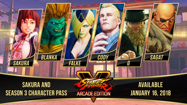 Old and New Characters Revealed for Street Fighter V Season 3