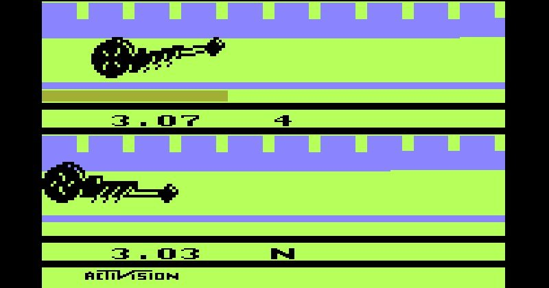 atari dragster speed run