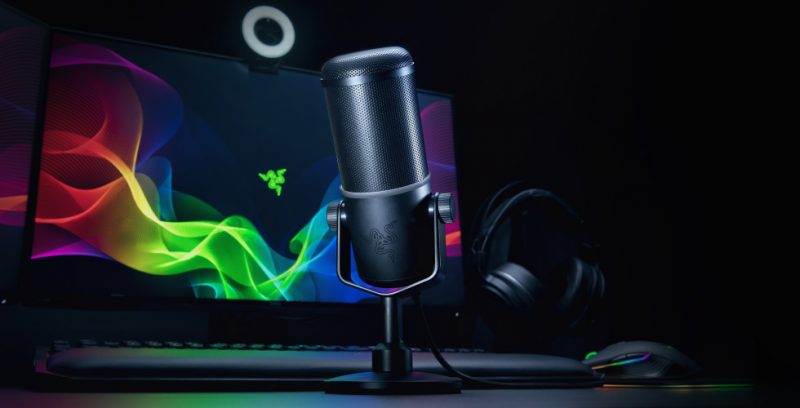 Razer Launches Seiren Elite Microphone for Streamers
