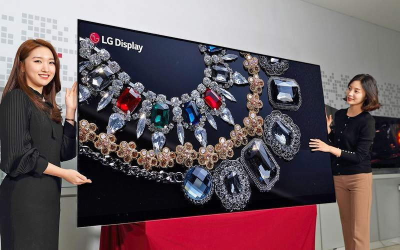 LG to Show Off New 8K OLED TV at CES 2018