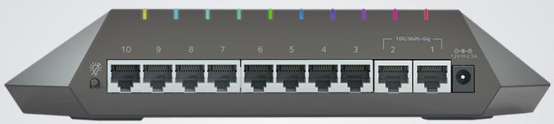 Netgear SX10 2 rear