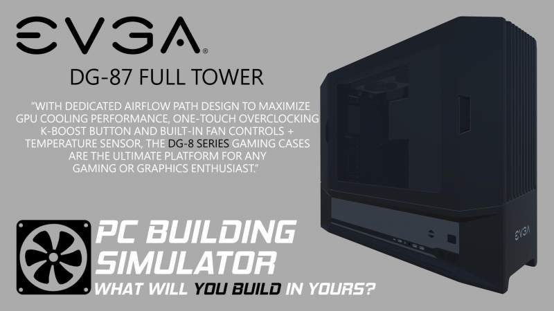 PC Building Simulator Gets Official EVGA Support