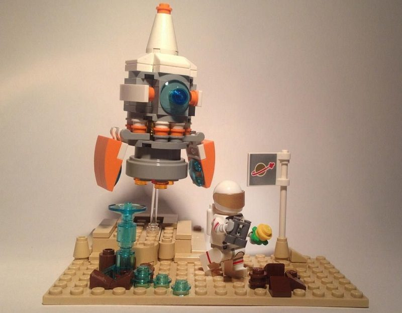 lego space competition