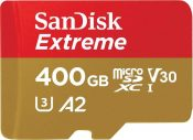 Faster SanDisk Extreme 400GB microSDXC Card Launched
