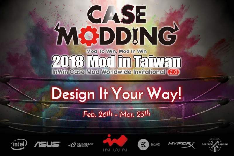In Win Launches 'Mod in Taiwan 2.0' Case Design Competition