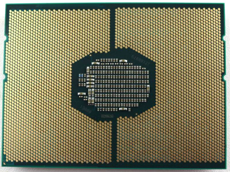 Intel Xeon Gold 6146 LGA3647 Photo view bottom alternate