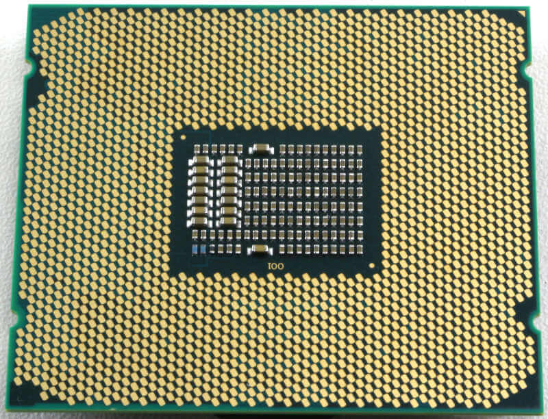 Intel Xeon W-2155 Photo view bottom