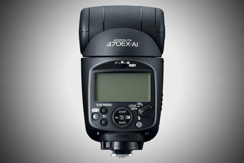 Canon Introduces the 470EX-AI – World's 1st Camera Flash with AI