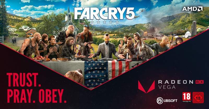 Far Cry 5 is Free with Select Pre-Built Radeon Powered PCs