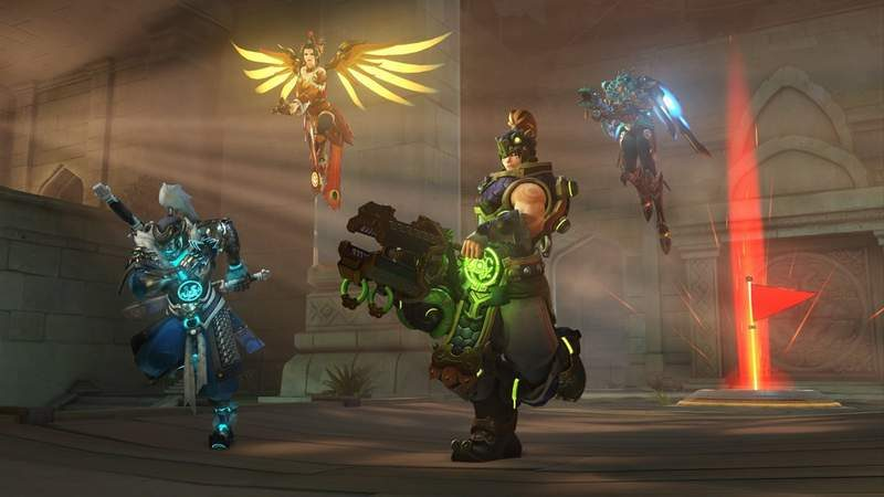 Overwatch Lunar Event Features New Skins and New CTF Map