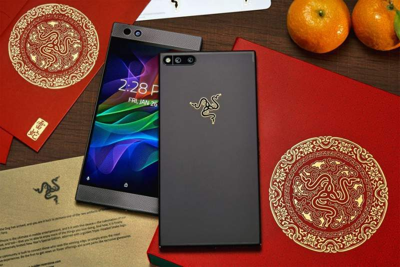 Razer Launching Special Edition Gold-Logo Phone
