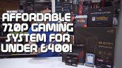 720p gaming system