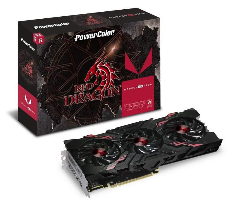 PowerColor Announces Red Dragon Vega 56 Graphics Card