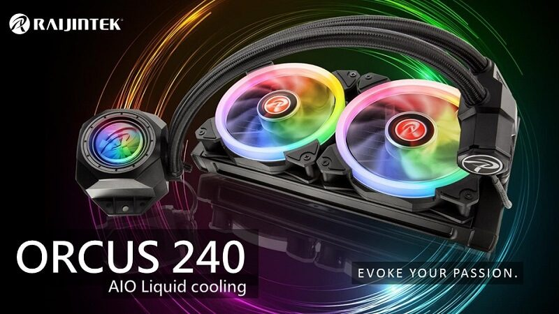 Raijintek Orcus 240mm AIO Cooler Review