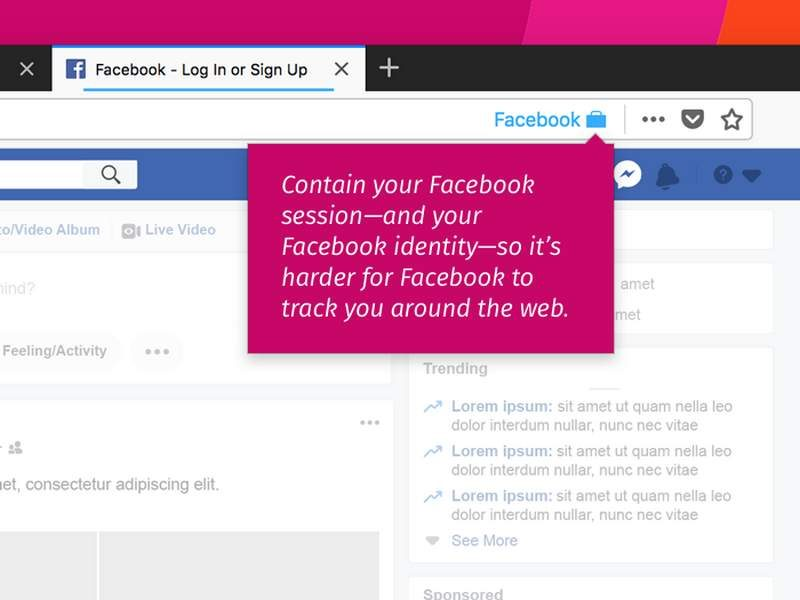 Mozilla Launches Facebook Container Add-on for Firefox