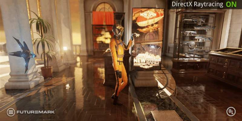 Futuremark Video Shows-Off Live DX12 Raytracing Tech Demo