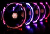 Raijintek Macula 12 Rainbow Fans