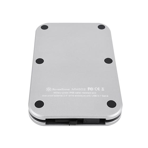 SilverStone Launches MMS02 2.5-Inch USB-C IP68 Enclosure