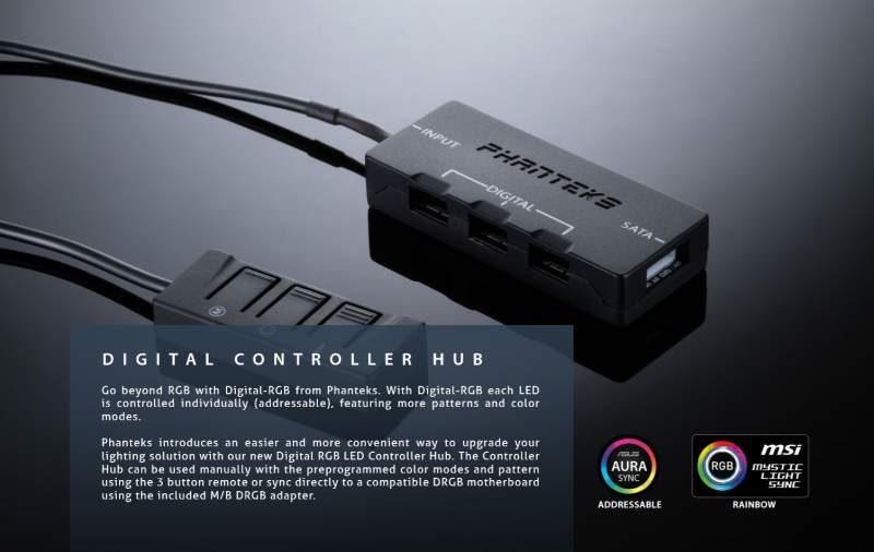 Phanteks Introduces Digital RGB Product Range
