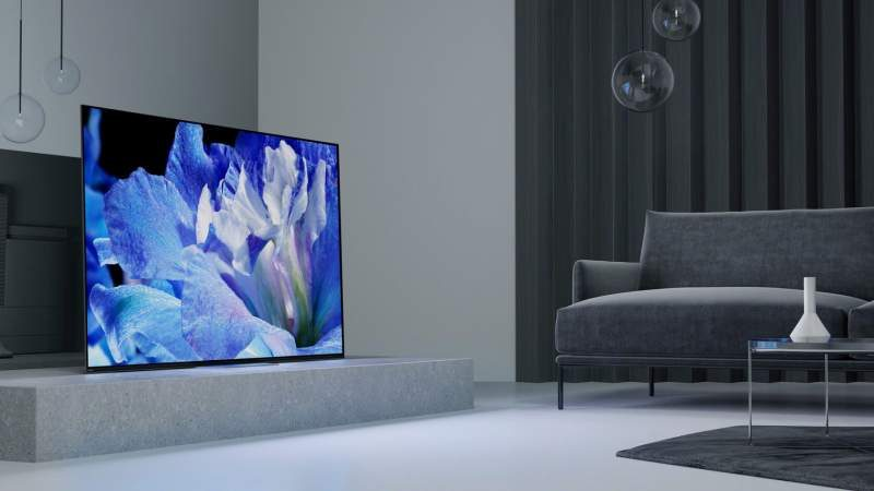 Sony Announces Pricing Information for 2018 OLED TV Lineup