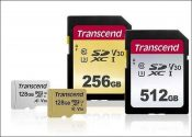 Transcend Launches 500S and 300S Series SD Cards