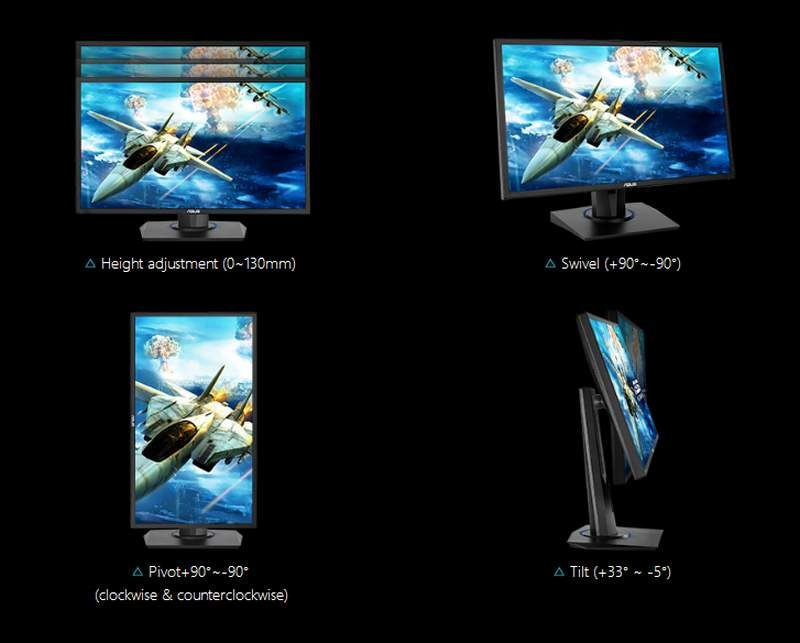ASUS Introduces VG255H Monitor for Console Gaming