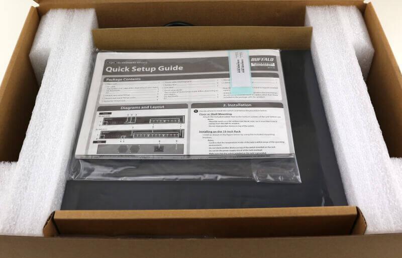 Buffalo BS-MP2008 Photo box open