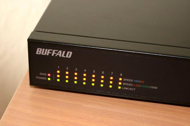 Buffalo BS-MP2008 Photo setup leds diagnose