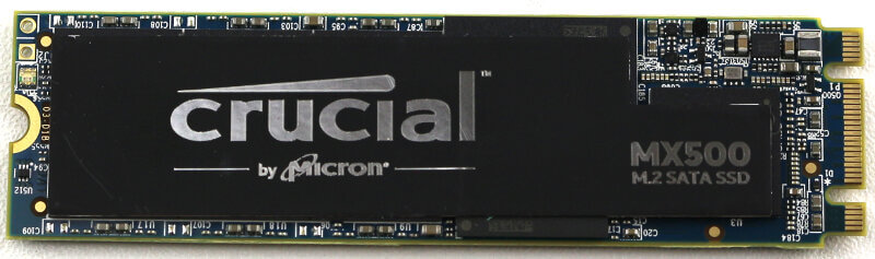 Crucial MX500 M2 1TB Photo view top