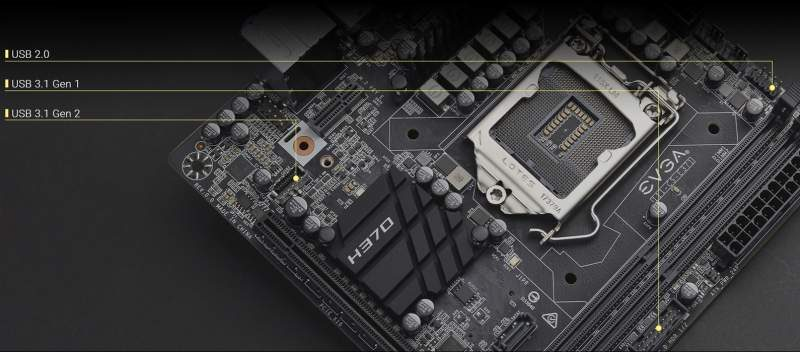 EVGA Announces the H370 Stinger Mini-ITX Motherboard