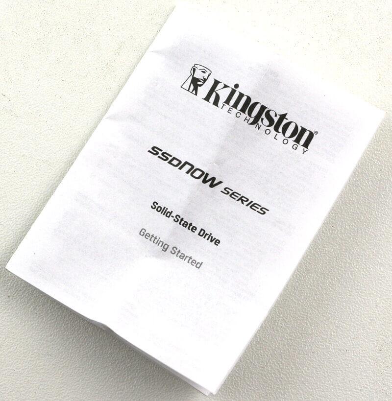 Kingston UV500 240GB Photo package extras