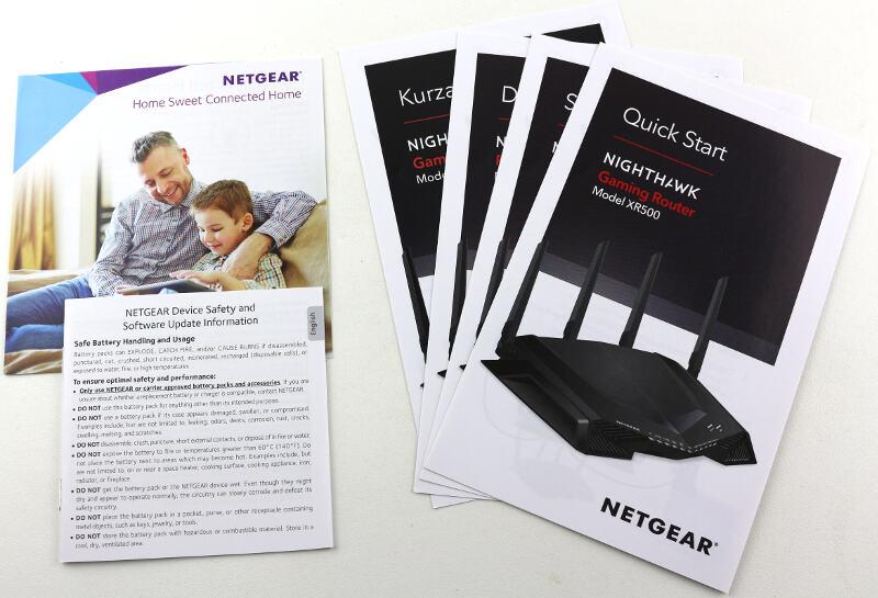 NETGEAR Nighthawk Pro Gaming XR500 Photo box content 3