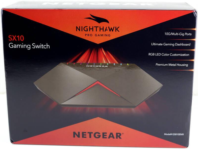 NETGEAR Nighthawk SX10 Photo box front